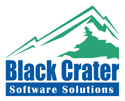 Black Crater logo